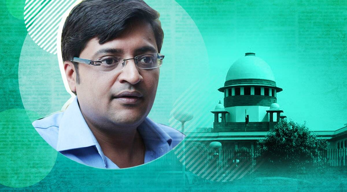 Fake TRP case, SC on TRP case, Supreme Court, Republic TV, SC on Republic TV case, Arnab Goswami, Mumbai Police, Indian Express
