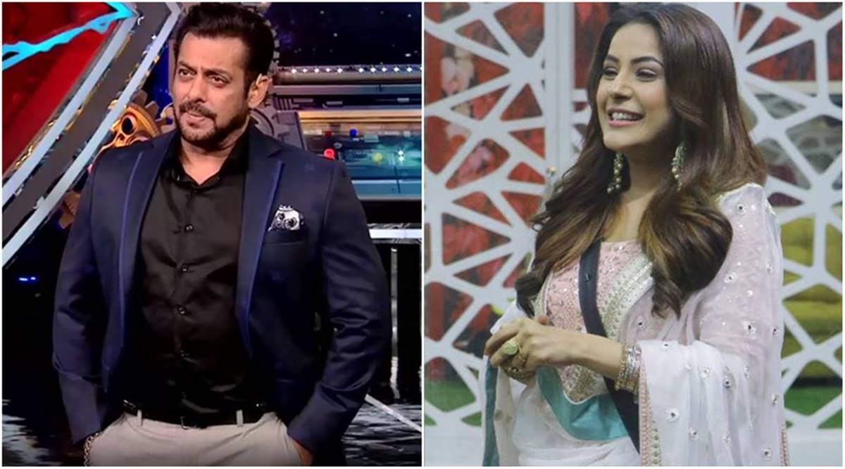 Salman Khan and Shehnaaz Gill