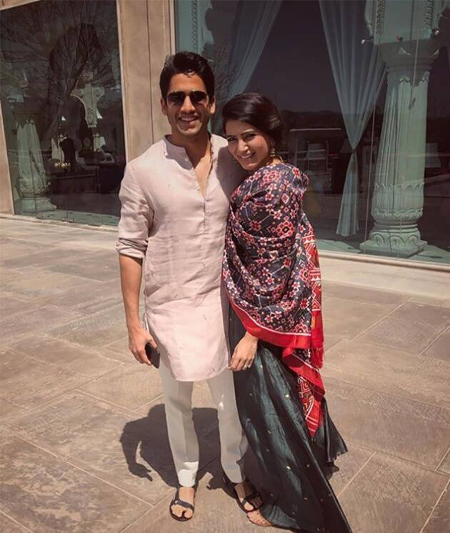 Samantha Ruth Prabhu and Naga Chaitanya wedding anniversary, Samantha Ruth Prabhu and Naga Chaitanya wedding anniversary photos, Samantha Ruth Prabhu and Naga Chaitanya wedding anniversary, Samantha Ruth Prabhu and Naga Chaitanya wedding anniversary photos, indian express, indian express news