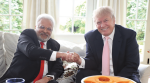 Donald trump, US elections, US polls 2020 fight, trump-Biden fight, abki baar, trump sarkaar slogan, Man behind trump sarkar slogan, Shalabh Kumar, world news, Indian express