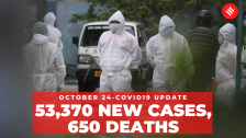 Coronavirus Update Oct 24: India records 53,370 new Covid-19 cases; total caseload at 78,14,682