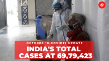 Coronavirus Update: India's total Covid-19 cases reached 69,79,423 on Oct 10