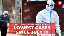 Coronavirus Update Oct 27: India records 36,410 new Covid-19 cases, lowest since July 17