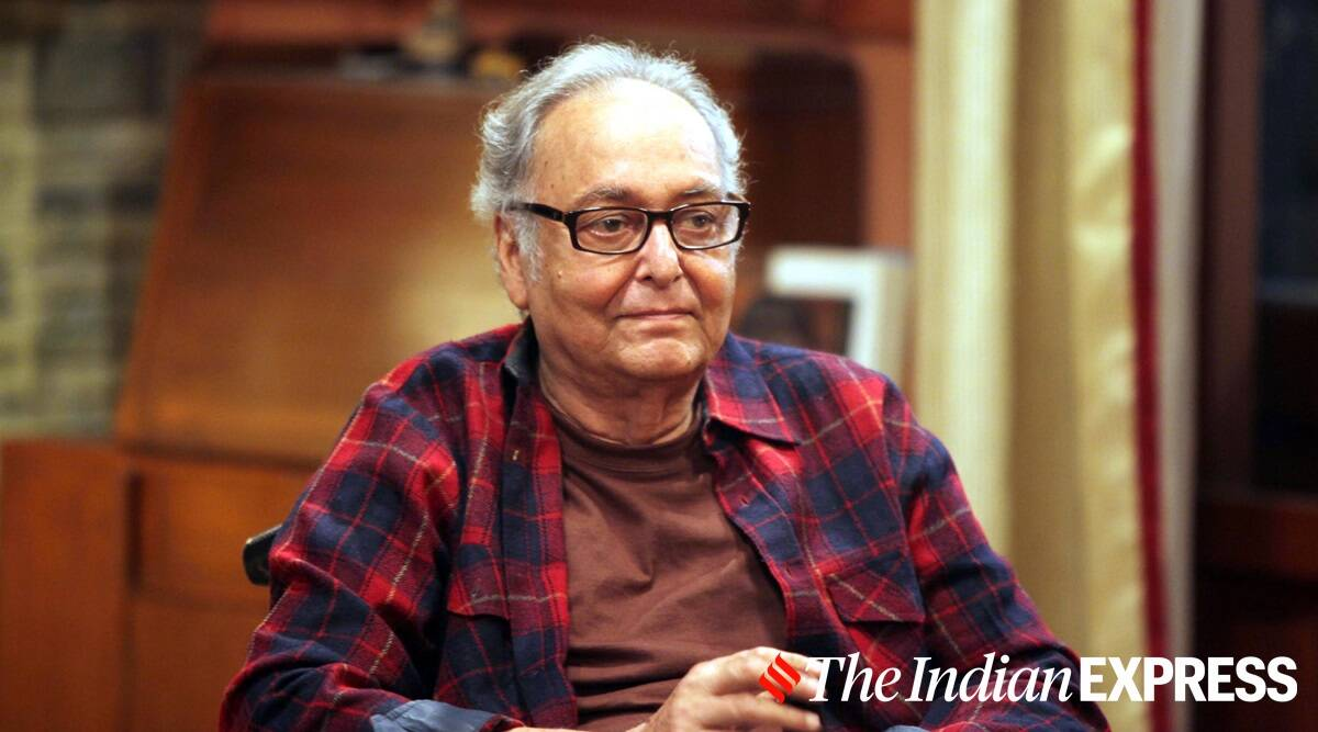 Soumitra Chatterjee health, Soumitra Chatterjee health status, Soumitra Chatterjee covid, Soumitra Chatterjee