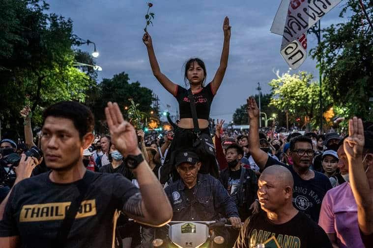 thailand protests, thailand protests today, thailand protests news, thailand monarchy protests, Prayuth Chan-ocha, thailand news
