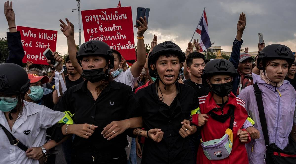 thailand protests, thailand protests today, thailand protests news, thailand monarchy protests, Prayuth Chan-ocha, thailand news