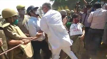hathras case, hathras protests, hathras rape case, trinamool congress, TMC hathras, derek o brien, indian express