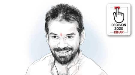 Tej Pratap Yadav, Tej Pratap profile, Bihar RJD, Tejashwi Yadav, muslim-Yadav votes, Bihar assembly elections 2020, Bihar polls, Indian express