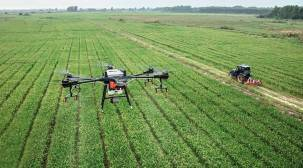 Telangana varsity working on SOPs for use of drones in farming