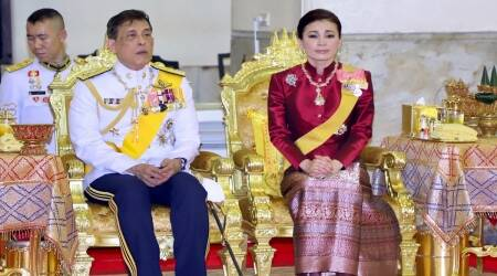 Thailand royalty, Maha Vajiralongkorn, Suthida, Thai King, Thai Queen