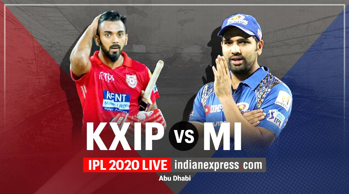 IPL 2020 Live Score, KXIP vs MI Live Cricket Score Online: Punjab and Mumbai aim to bounce back