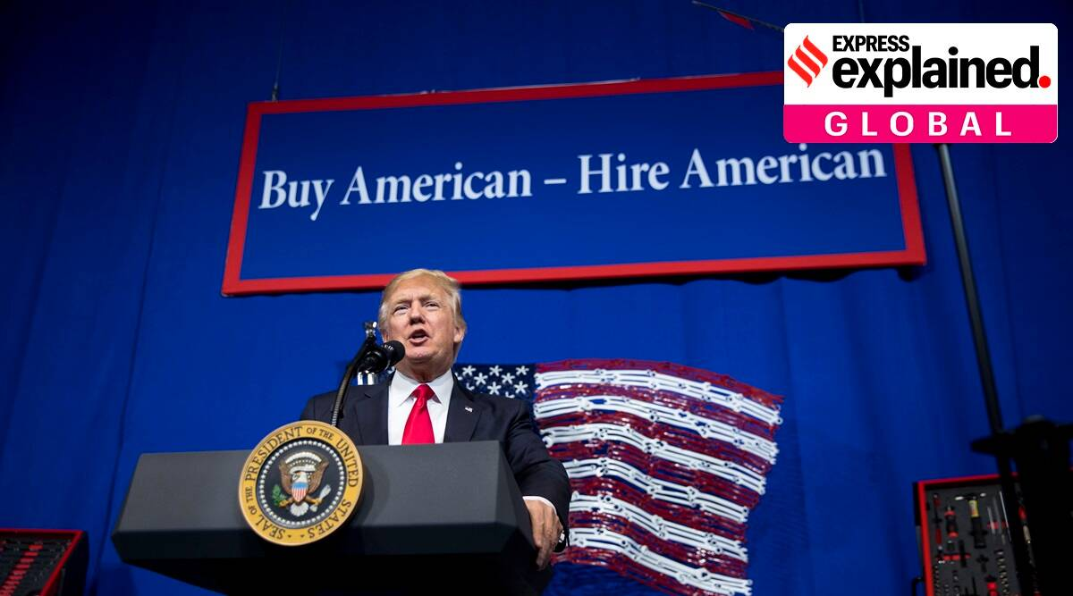 H1B visa, H1B visa rules, H1B visa for Indians, H1B visa new rules, H1B visa policy change, H1B visa programme, H1B visa news, Indian Express