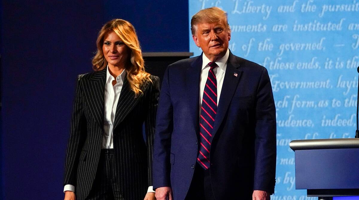 Donald Trump, Melania test positive for Covid-19 - The Indian Express