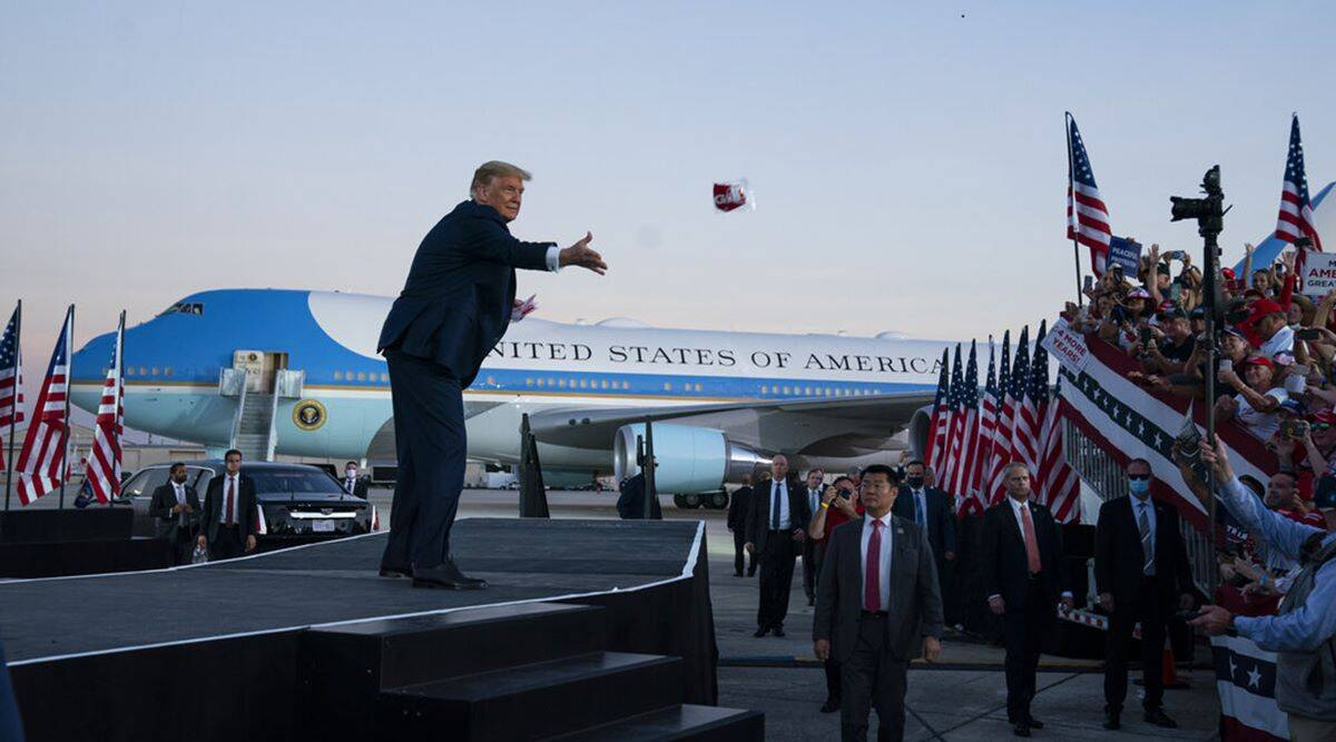 Donald Trump holds rally, trump holds first rally after covid, Trump coronavirus, trump doctors, trump health, US presidential elections, world news