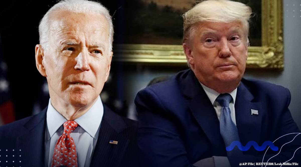 US elections, Donald trump, Joe Biden, Trump Biden fight, Trump biden Pennsylvania, US elections wrap, world news, indian express