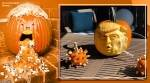 Donald Trump, pumpkin carving, Trumpkins, Donald Trump carvings on pumpkin, Donald trump Jack-o-lanterns, us election, Halloween 2020, Trump theme hallooween 2020, Trending news, Indian Express news