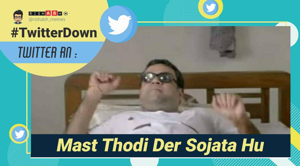Twitter down, Twitter outage memes, Twitter outage reaction, Twitter down, Trending news, Indian Express news.