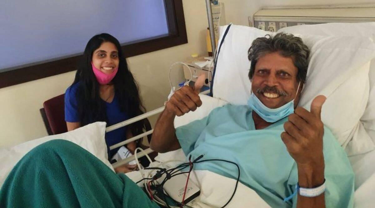 Kapil Dev stable after emergency coronary angioplasty due to chest pain | Sports News,The Indian Express