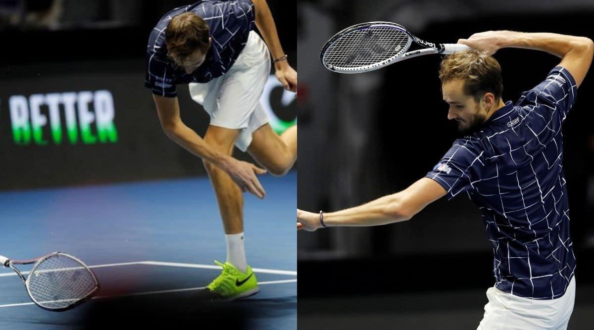 Reilly Opelka, Daniil Medvedev, St. Petersburg Open.