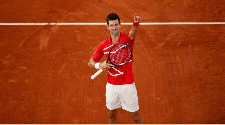 Djokovic, French Open final