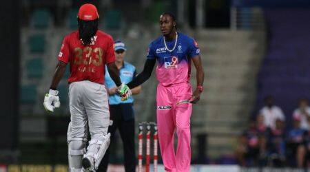 Chris Gayle and Jofra Archer