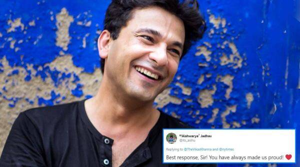 Chef Vikas Khanna, Vikas Khanna tweet, Lauren Witzke anti migrant tweet, The US, India, vikas khanna viral tweet, indian express news, Trending news