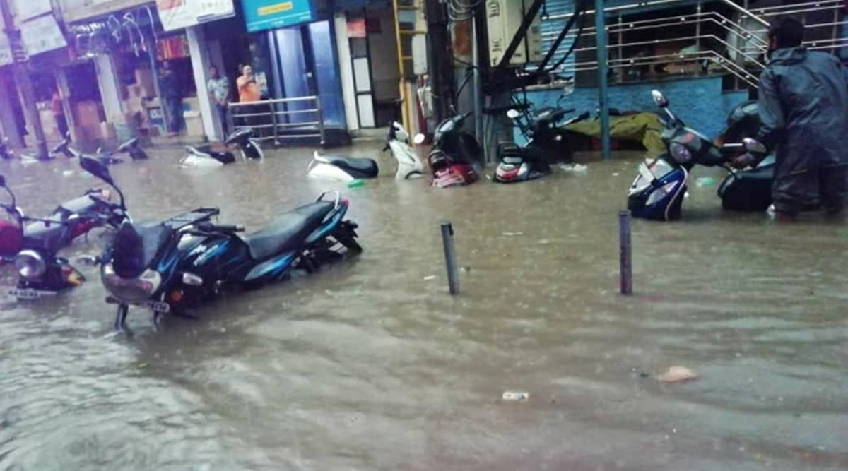 bengaluru rains, bangalore weather, bengaluru news, floods bengaluru, latest news, indian express