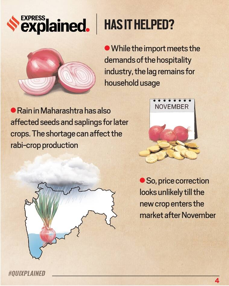 Onion prices, onions, onion prices india, onion prices explained, onion trade, indian express