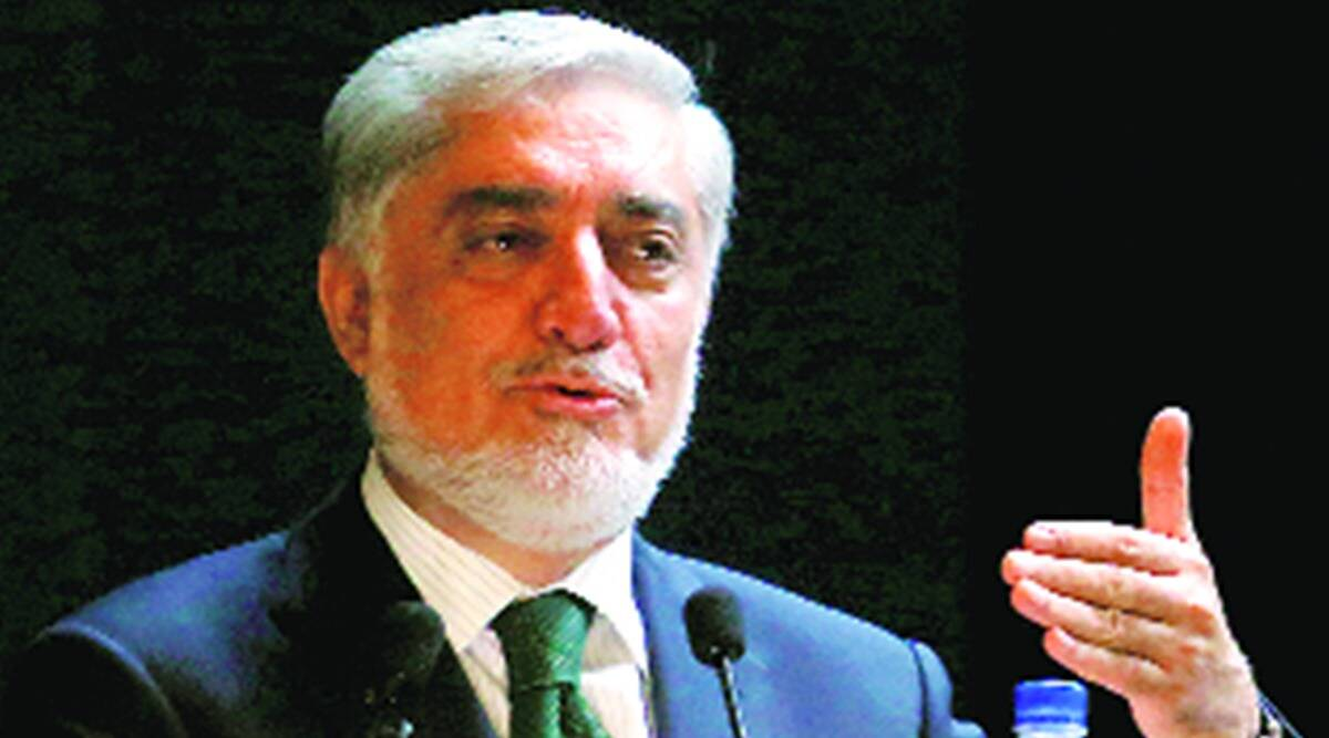 Afghan peace talks, Afghan peace talk negotiator with taliban, Abdullah Abdullah, Abdullah Abdullah to visit india, India's Afghan policy, indian express news