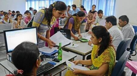 gujarat education dept, gujarat 12 class exams. Gujarat students 12 supplementary exams, gujarat students 1sy year admission, indian express news