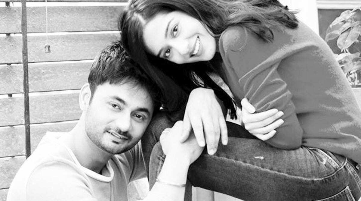 Amrita Rao and RJ Anmol