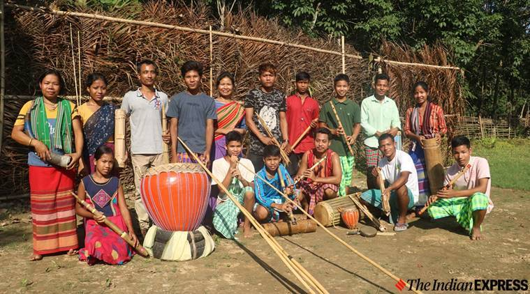 How a folk theatre collective in Assam is playing to preserve some unique tribal notes