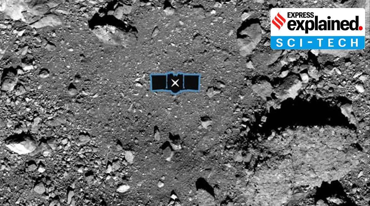 Asteroid Bennu, OSIRIS-REx, NASA asteroid Bennu,US spacecraft, Us spacecraft asteroid, rare rubble grab, science, asteroid