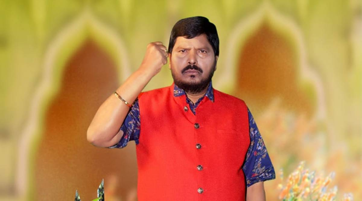 Union minister Ramdas Athawale tests Covid-19 positive, hospitalised in Mumbai | India News,The Indian Express