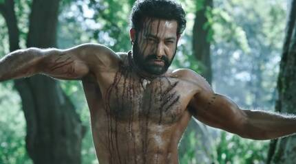 RRR teaser: Jr NTR as Komaram Bheem looks and moves like a battle-hardened warrior