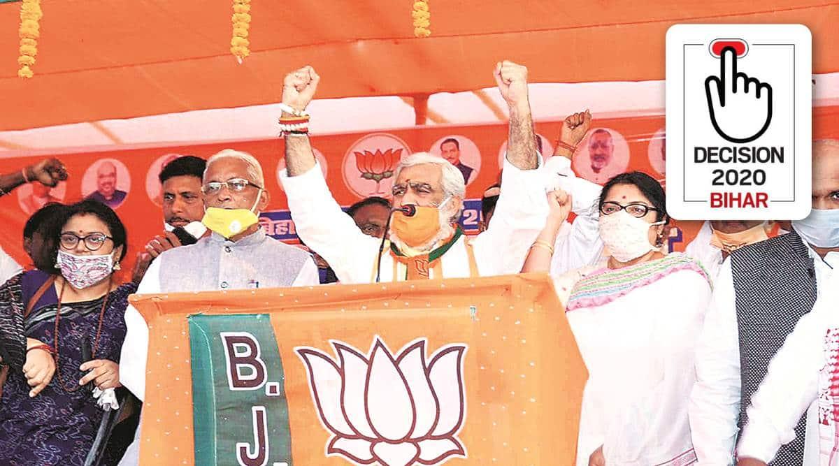 bihar elections 2020, bihar polls 2020, bhagalpur, ljp, ashwini kumar choubey, indian express
