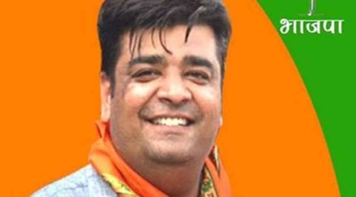 haryana vidhan sabha, bjp harayana Mla, Bjp haryana mla protest, haryana farmers issue, bjp mla farmers issue protest in haryana, indian express news