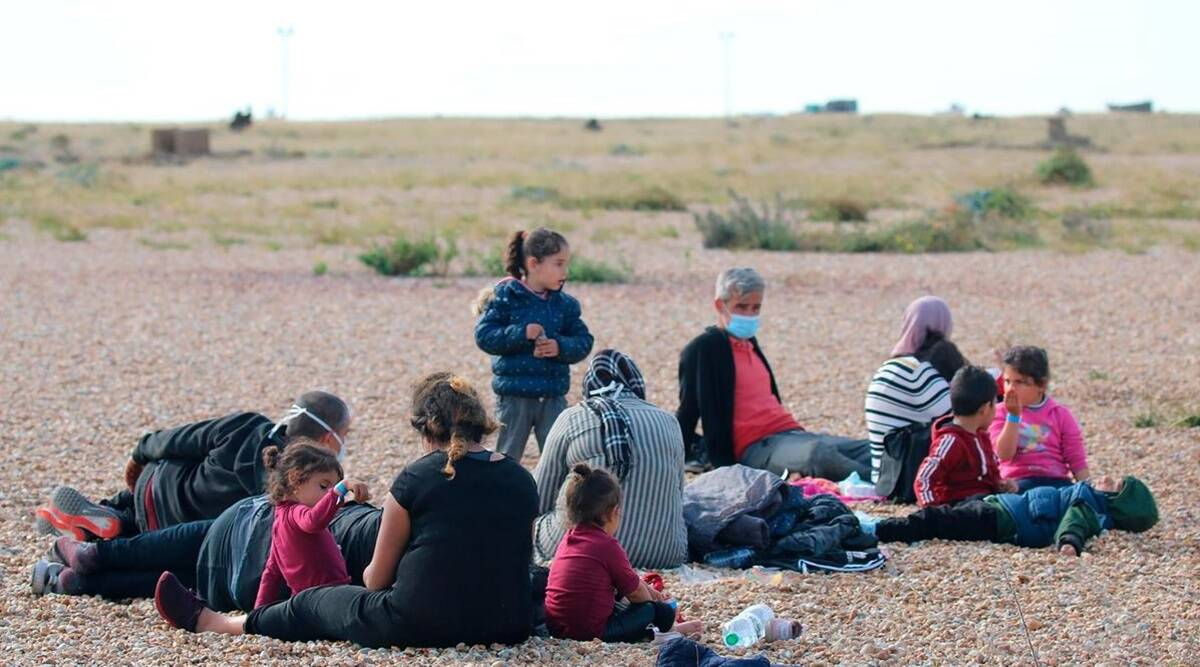 Britain migrants, Britain illegal migrants, illegal migrants Britain, Britain illegal migrants law, World news, Indian Express