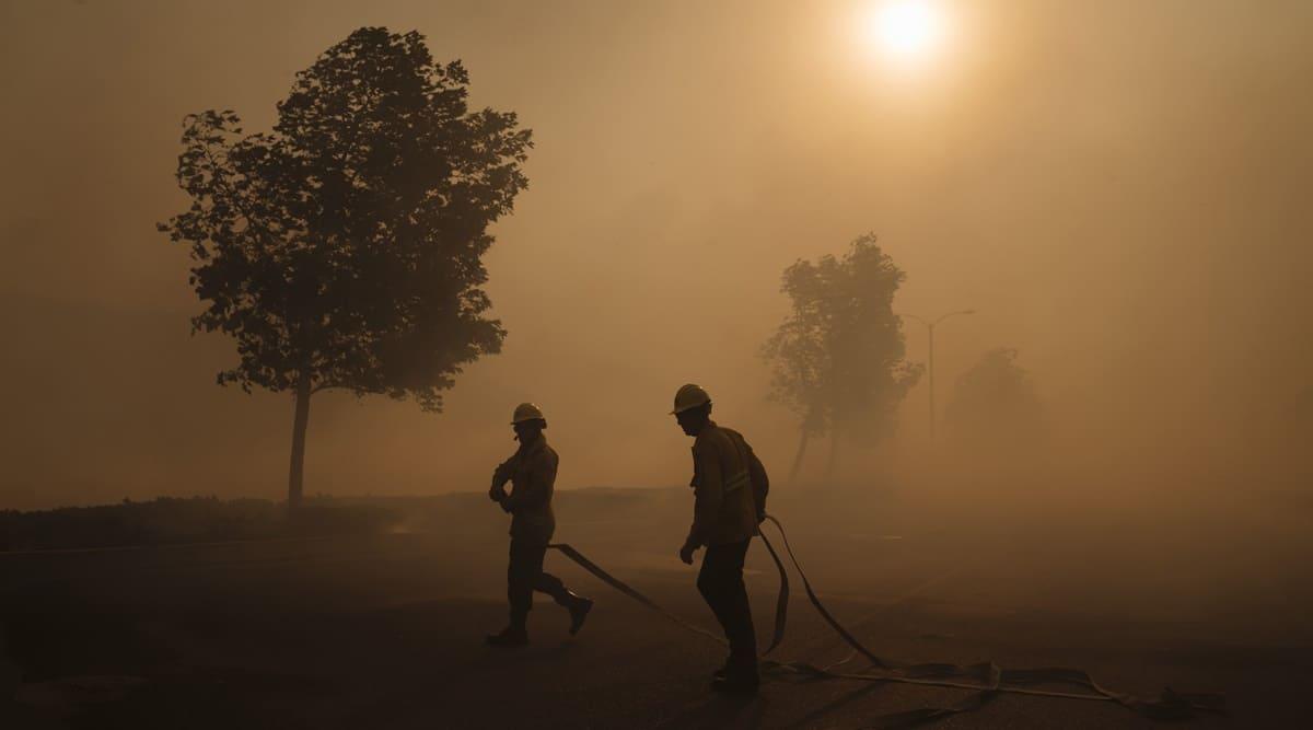 California fires, California wildfires, California fires rescue ops, California wildfires rescue ops, World news, Indian Express