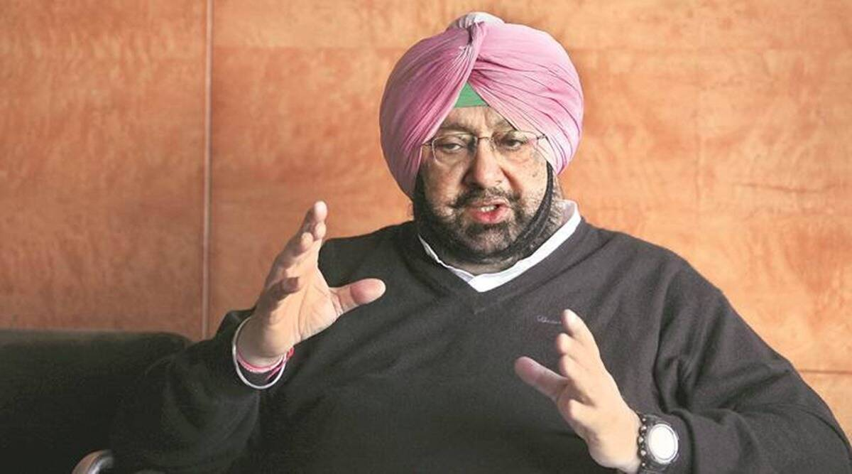 Amarinder Singh slams Sukhbir, Sukhbir Badal, farm laws, agri bills, Chandigarh news, Punjab news, Indian express news