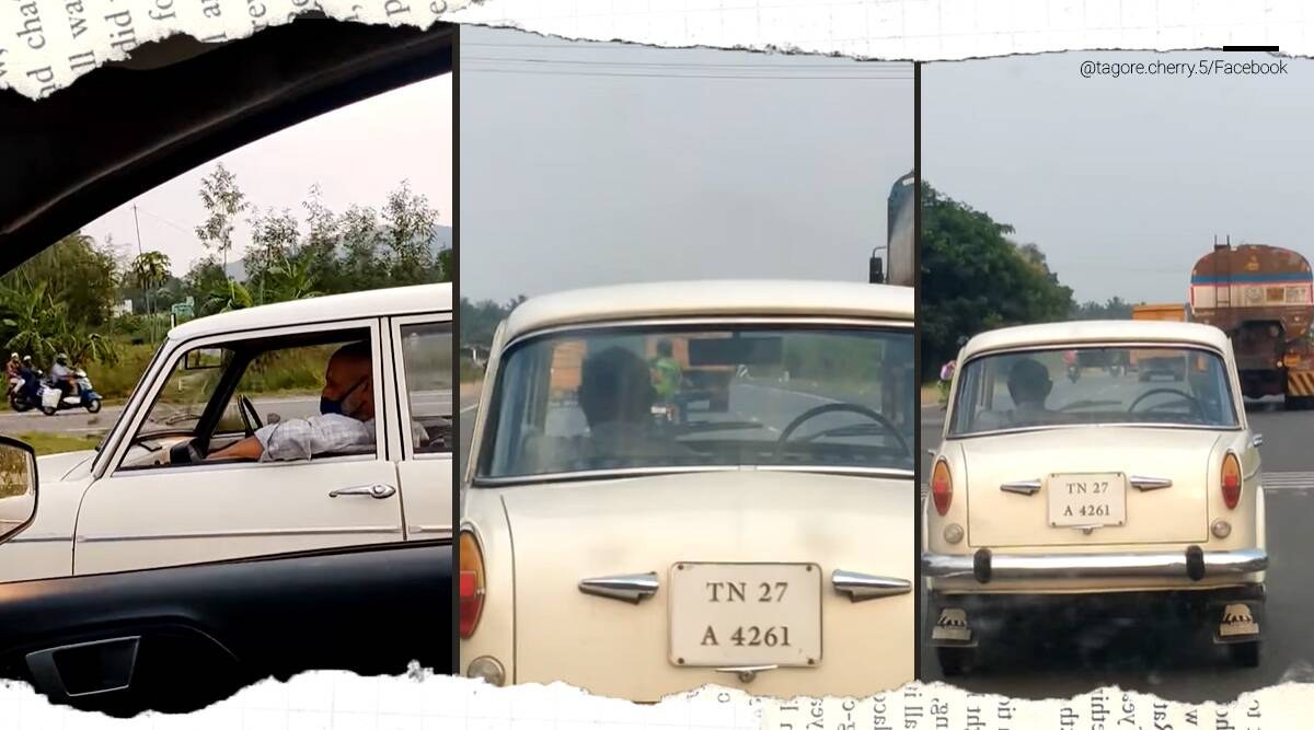 Tamil Nadu, driverless car, car without driver viral video, driver, automated car, fiat, trending,