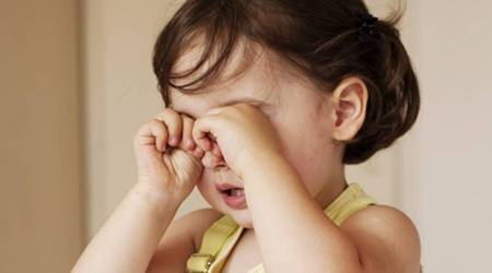 child eye problem
