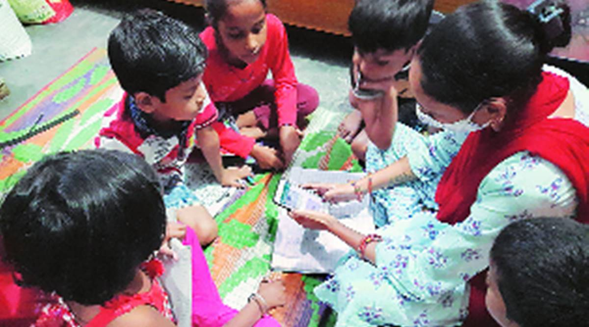 For 5 children, two-room house in Trilokpuri doubles up as classroom