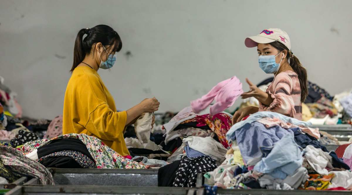 china old clothes, china discarded clothes, china problem, china fashion problem, Chinese fashion, china news, indian express