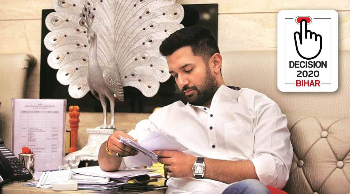 Explained: How are Chirag Paswan and the LJP placed in Bihar polls? - The Indian Express
