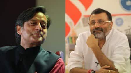 bjp mp nishikant dubey attacks shashi tharoor, Shashi Tharoor Facebook, shashi tharoor it panel, Facebook India BJP, Facebook India Parliament Shashi Tharoor, Facebook BJP controversty, India news, Indian Express