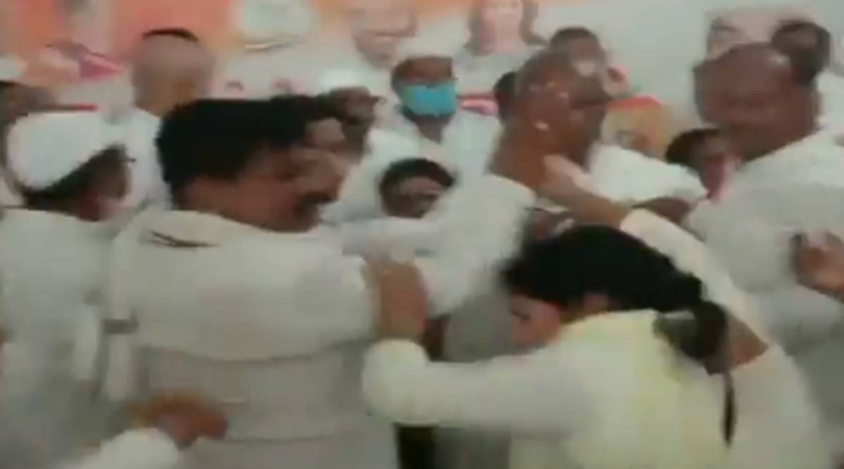 Congress workers assault woman for questioning decision to field rape accused in UP bypolls