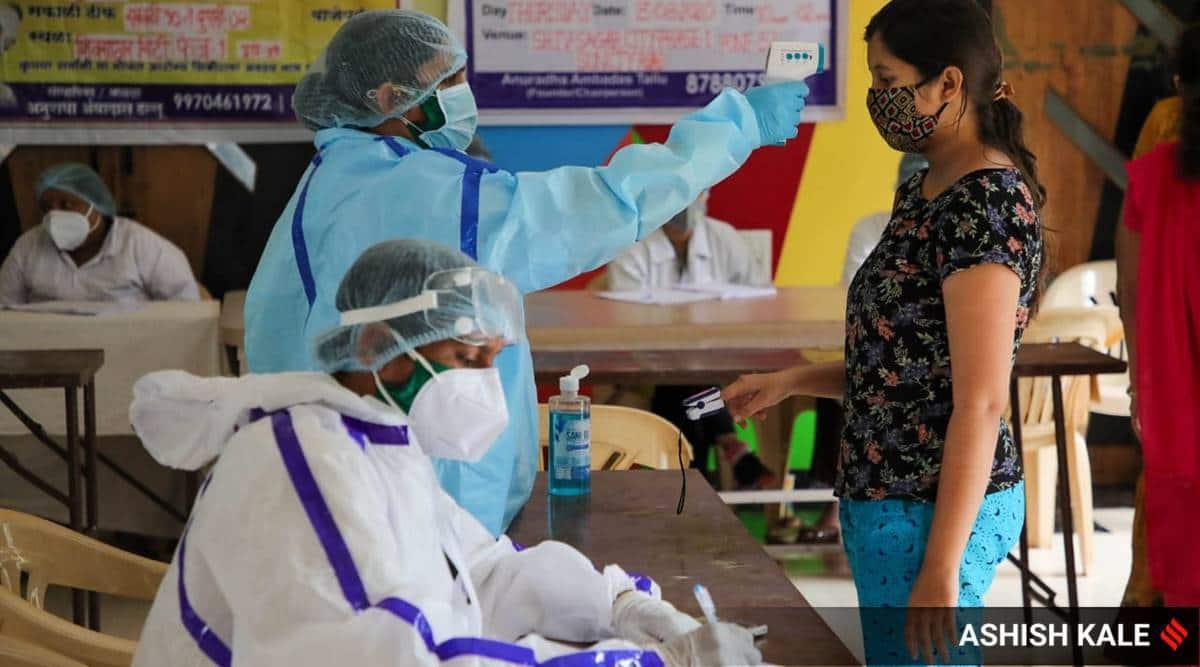 Gujarat covid cases drop, Gujarat coronavirus tests, Ahmedabad news, Gujarat news, Indian express news
