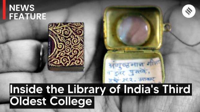 Deccan College Turns 200: Inside the Library of India's Third Oldest College