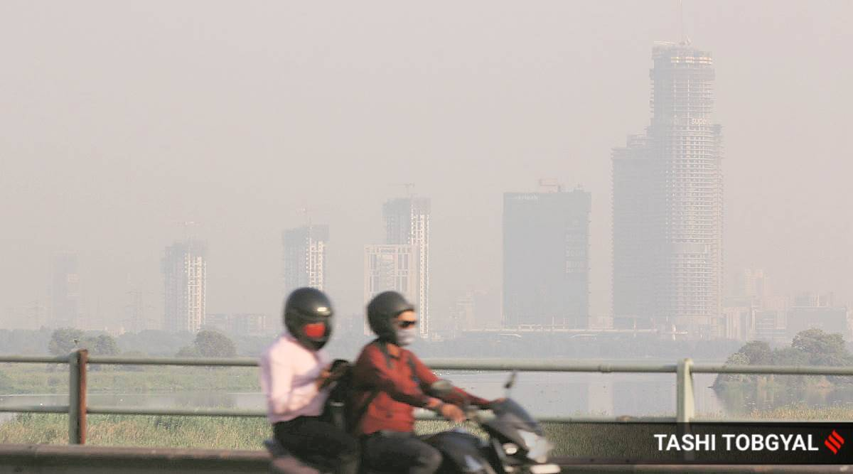 air pollution, pollution impact of covid spread, air pollution, covid 19, coronavirus air pollution, indian express